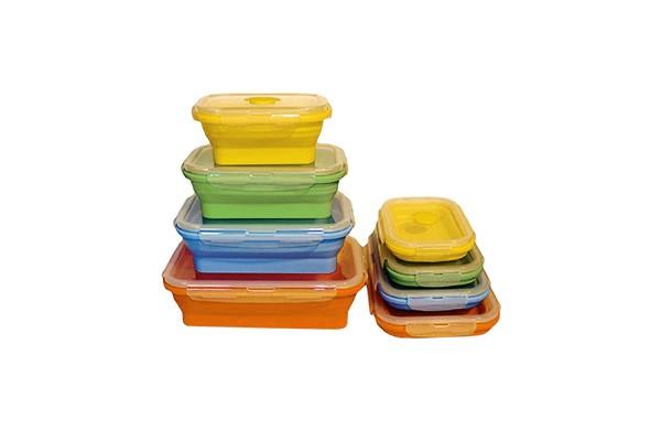 Lunchbox Set faltbar - mikrowellengeeignet