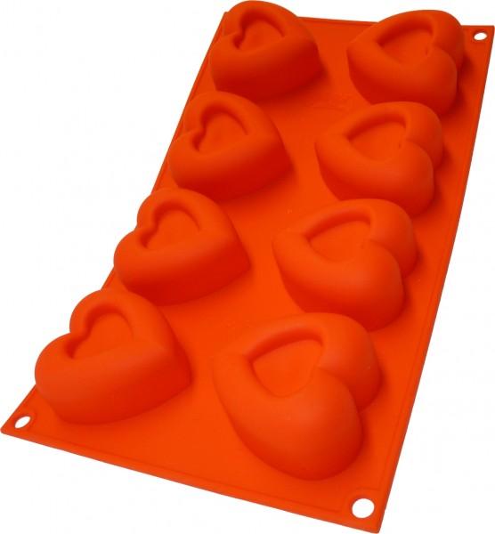Herz in Herz 8er Muffinform