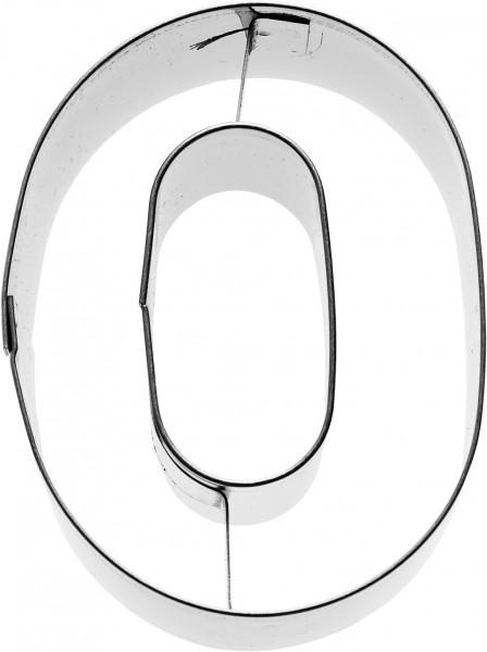 Zahl 0 Birkmann Ausstechform 6cm