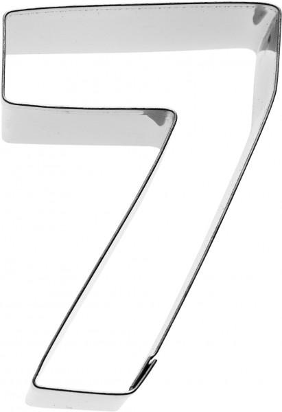Zahl 7 Birkmann Ausstechform 6cm
