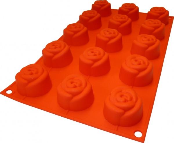 Rose 15er Muffinform