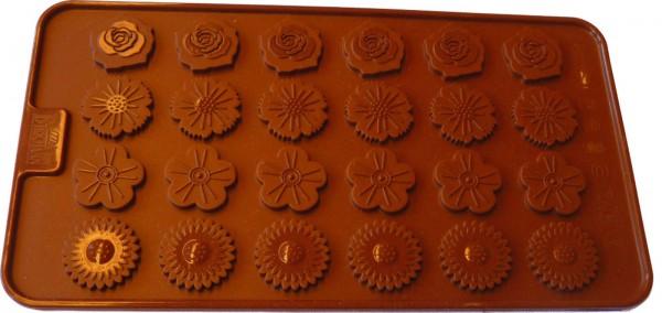 Kuchen/Tortenschablone Blumen