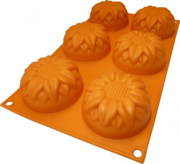 Sonnenblume 6er Muffinform