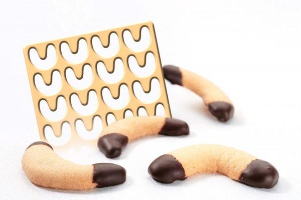 Ausstechschablone für Vanillekipferl
