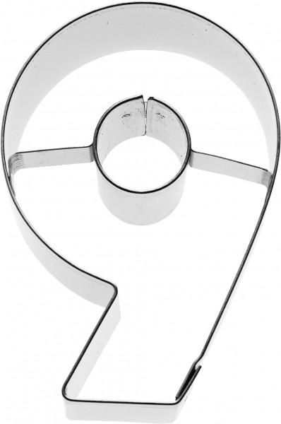 Zahl 9 Birkmann Ausstechform 6cm