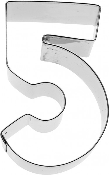 Zahl 5 Birkmann Ausstechform 6cm