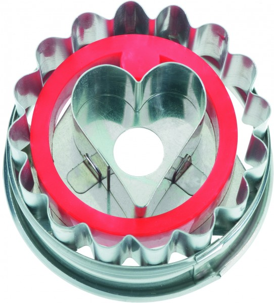 Linzer Herz Birkmann Ausstechform 5cm