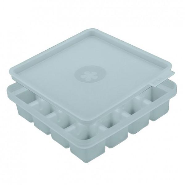 Kochblume Eiswürfelbehälter/ Eiswürfelform eisblau